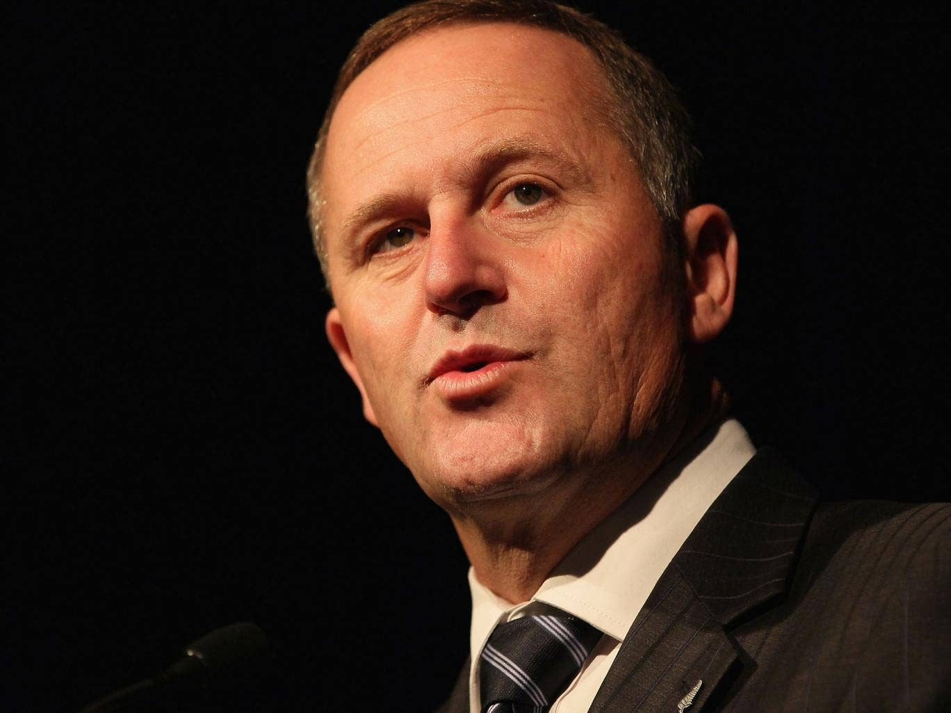 """John Key, or - as he is also known - """"unidentified guest"""""""
