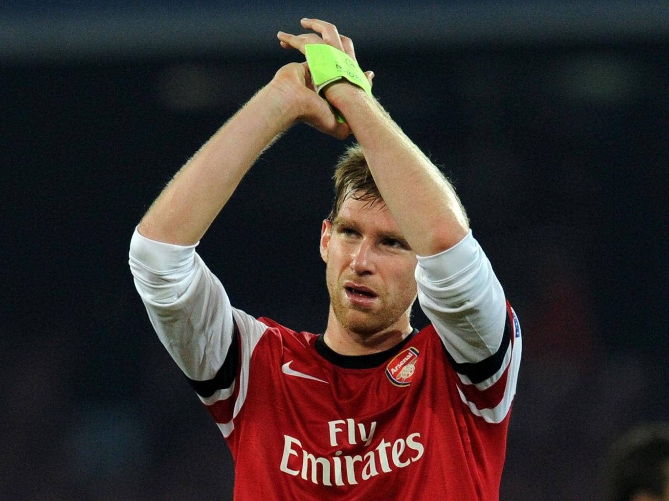Arsenal defender Per Mertesacker believes Arsenal can compete with Europe's best ahead of the Champions League draw