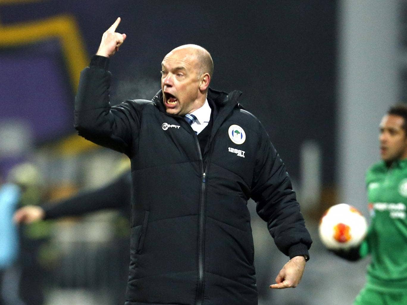 Uwe Rosler had a bad feeling about the game in Slovenia even before the first whistle