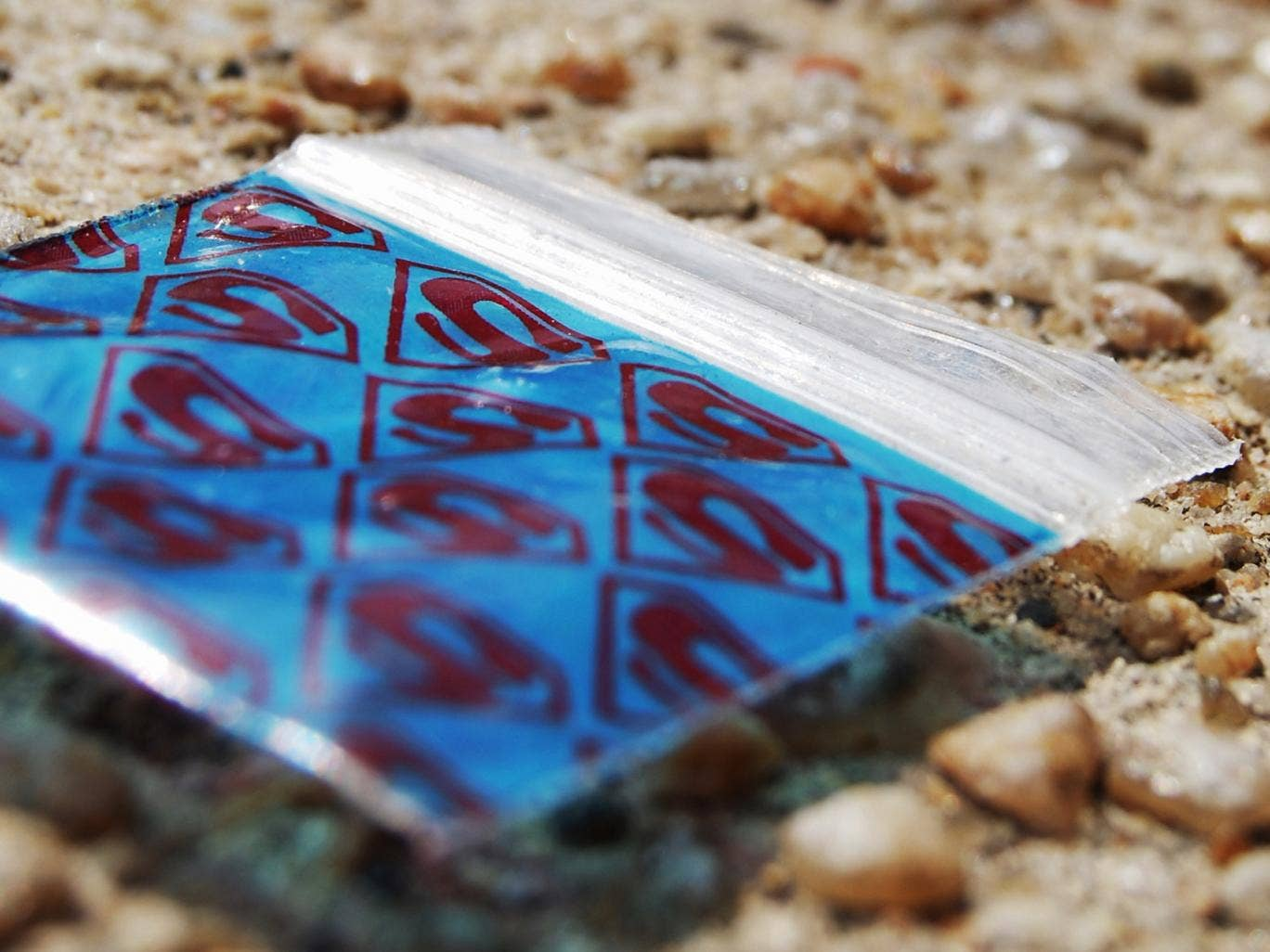 A photographer has been documenting discarded drug bags across south east London since January