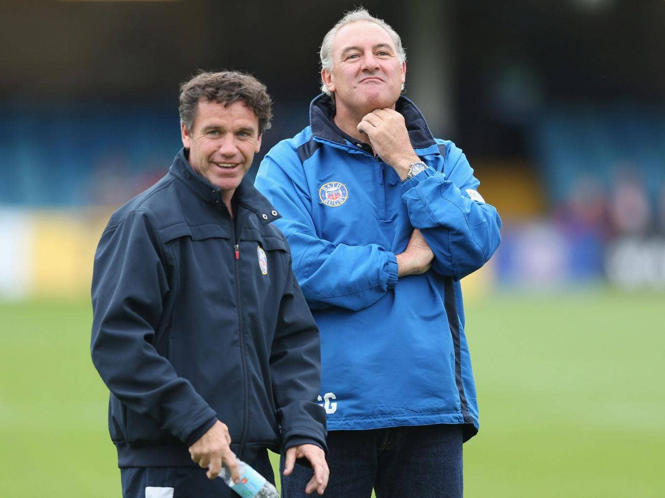Gary Gold claimed he left Bath this week on good terms