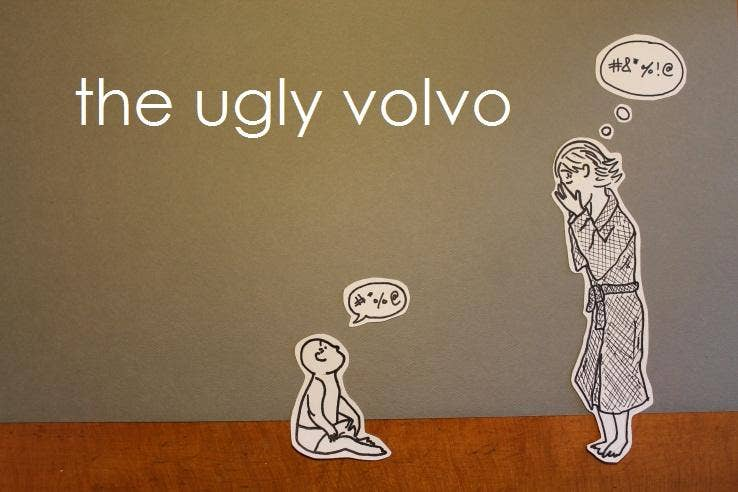 The baby list came from comic Rachel D'Apice, who writes a blog the ugly volvo