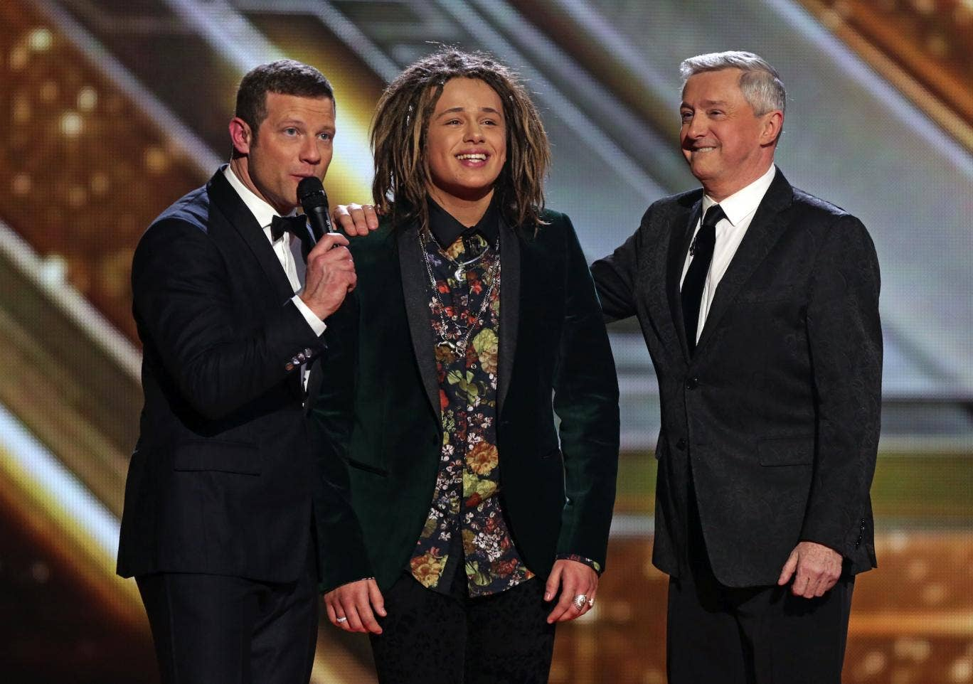 Luke Friend has placed third in the tenth series of The X Factor
