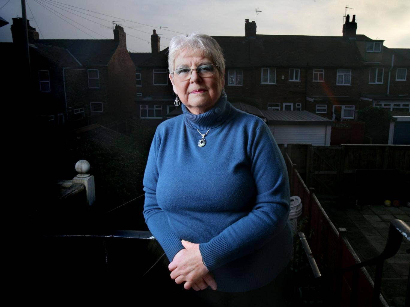 Margaret John at her home in York. She says that 'when you have cancer, you can't control it – it controls you'