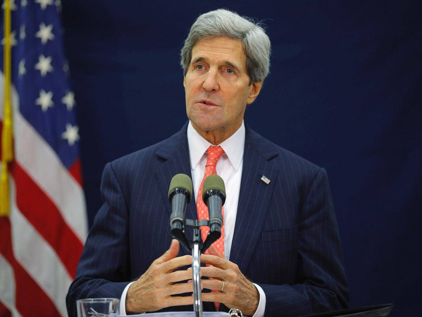 John Kerry said that to suggest that the government had 'abandoned [Mr Levinson] or anybody has abandoned him is simply incorrect... and not helpful'