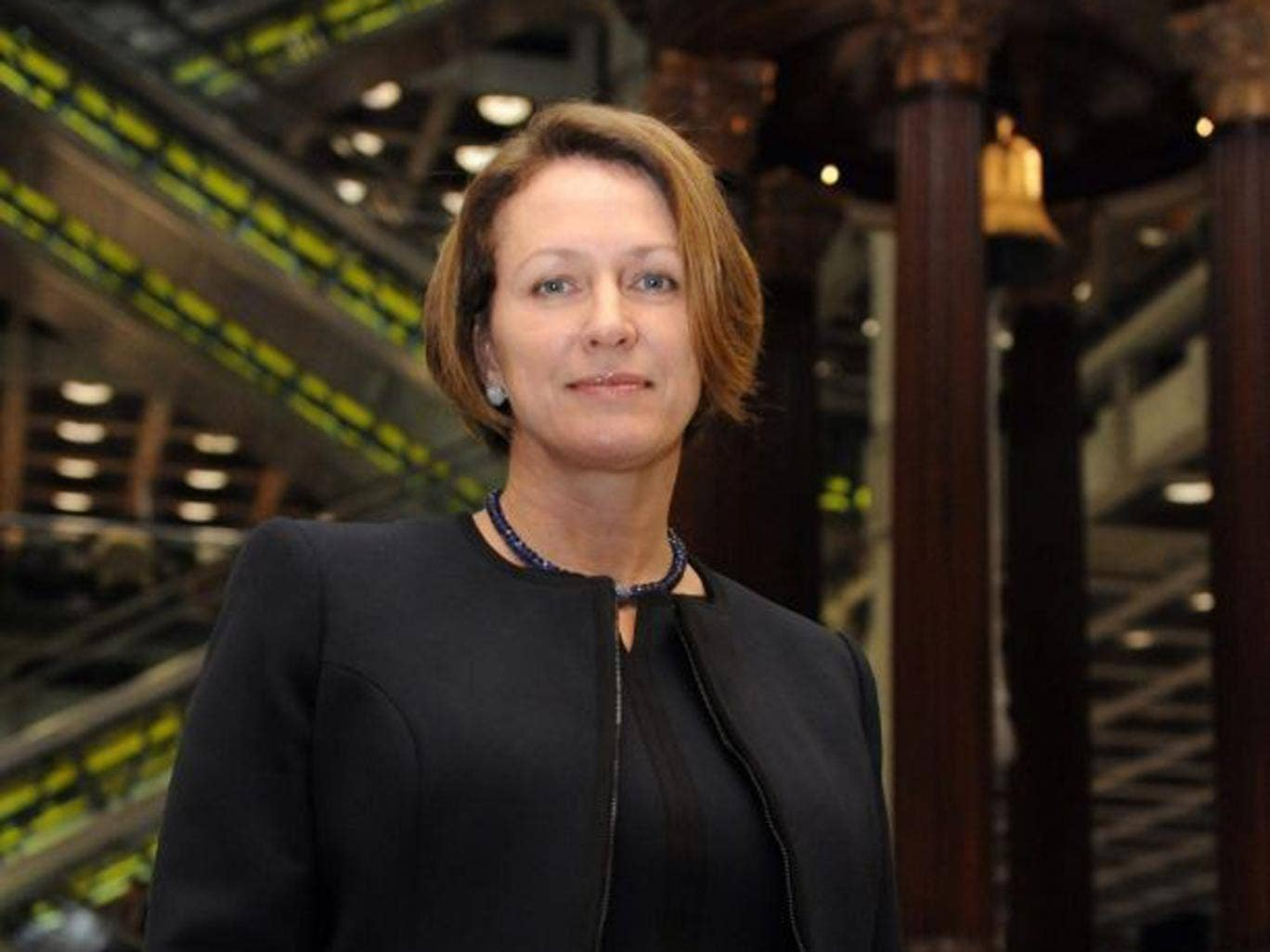 Inga Beale will take up the role as chief executive of Lloyd's of London in January 2014