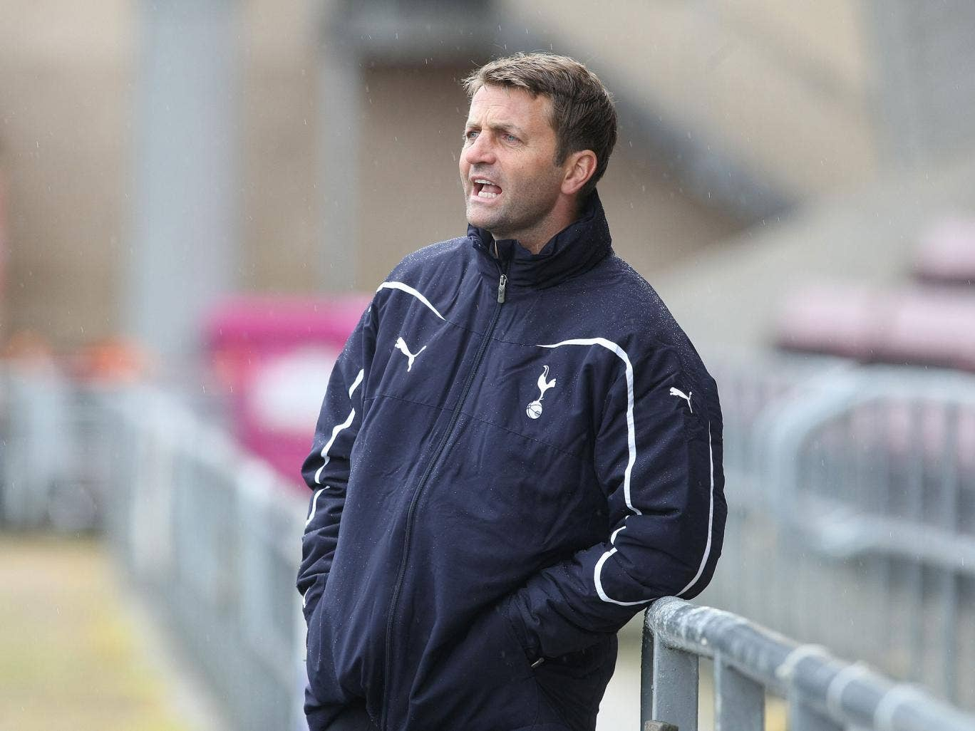 Tim Sherwood has taken temporary charge of Tottenham after andre Villas-Boas was sacked