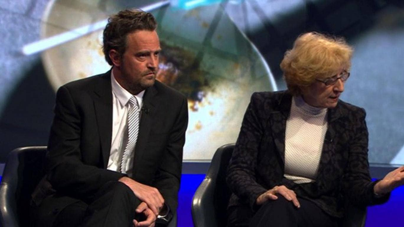It was a moment Friends fans probably never thought they'd live to see: watching Chandler Bing furiously debating drug addiction policy with outspoken columnist Peter Hitchens on Newsnight.