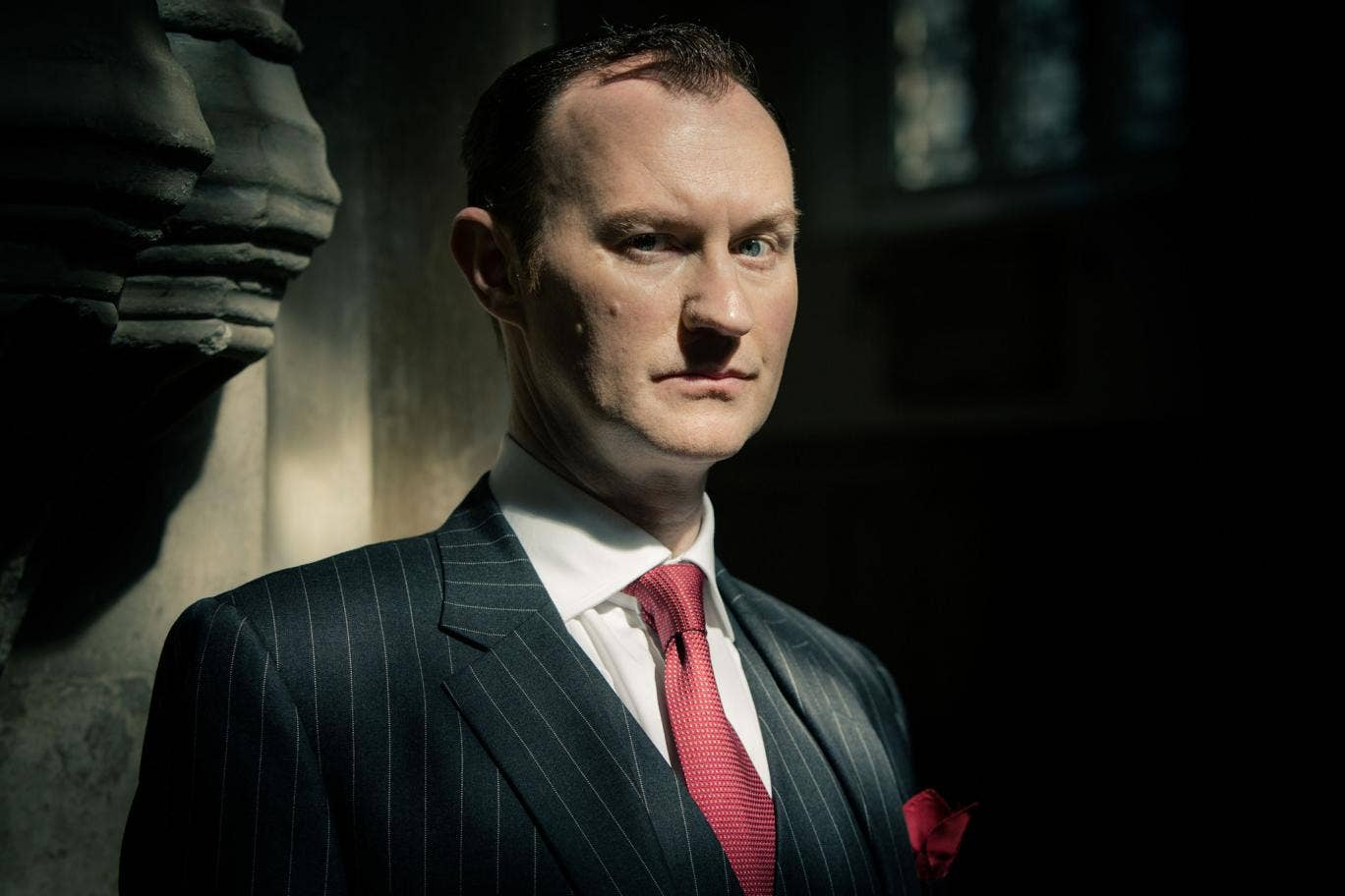 Sherlock series three: Mark Gatiss as Mycroft Holmes