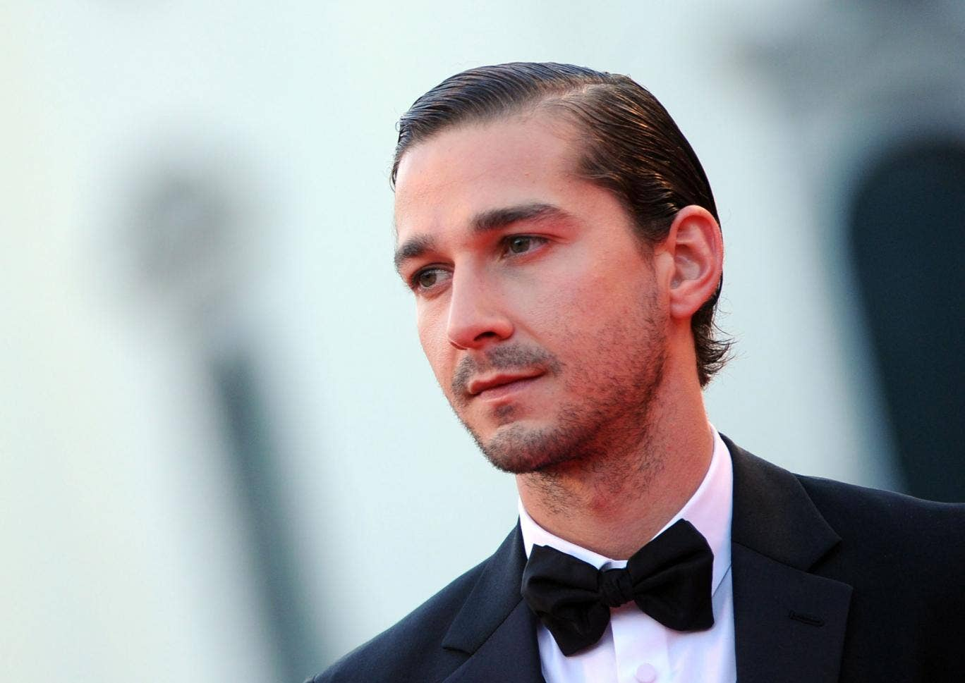 In the dog house: Shia LaBeouf has admitted failing to give accreditation to author Daniel Clowes