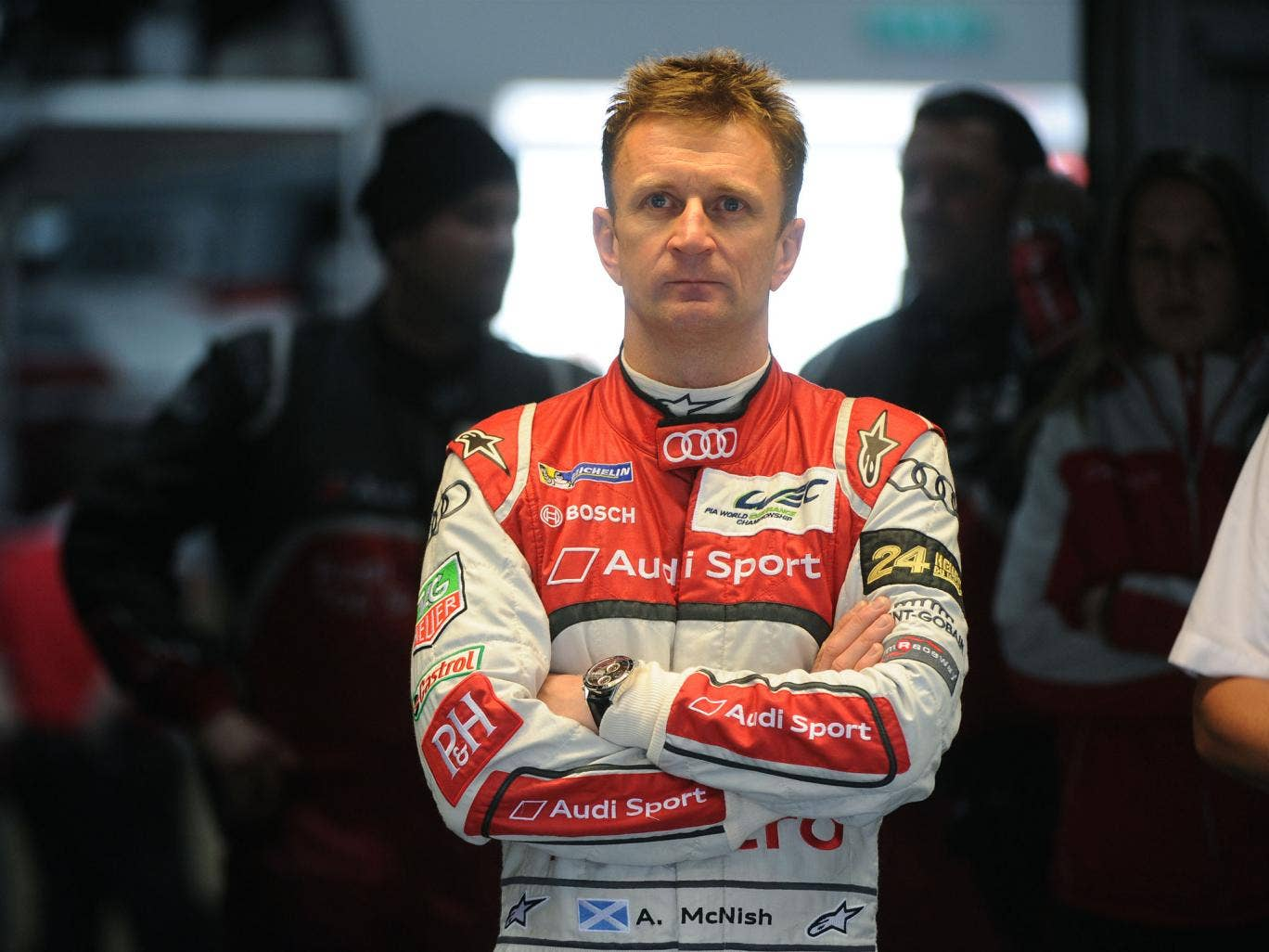 Allan McNish has announced his retirement from motor racing