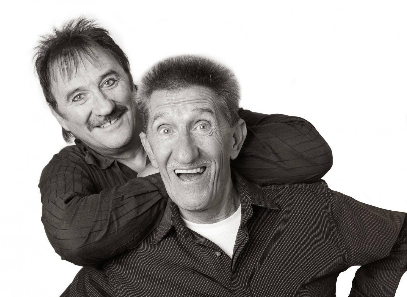 """The brothers, known for their catchphrase """"To me, to you"""", will sit it on lunchtime news conferences at Northern Echo"""