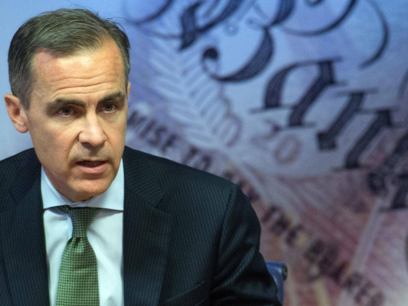 Governor of the Bank of England Mark Carney may decide to increase interest rates if unemployment continues to drop