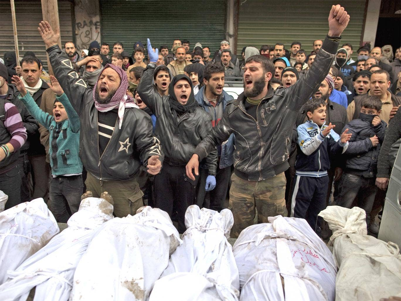 Hundreds of Syrian civilians have lost their lives under the current regime