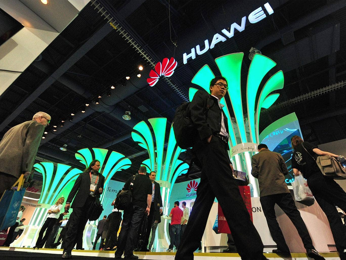 The epitome of big business, Huawei had revenues of £21bn in 2012