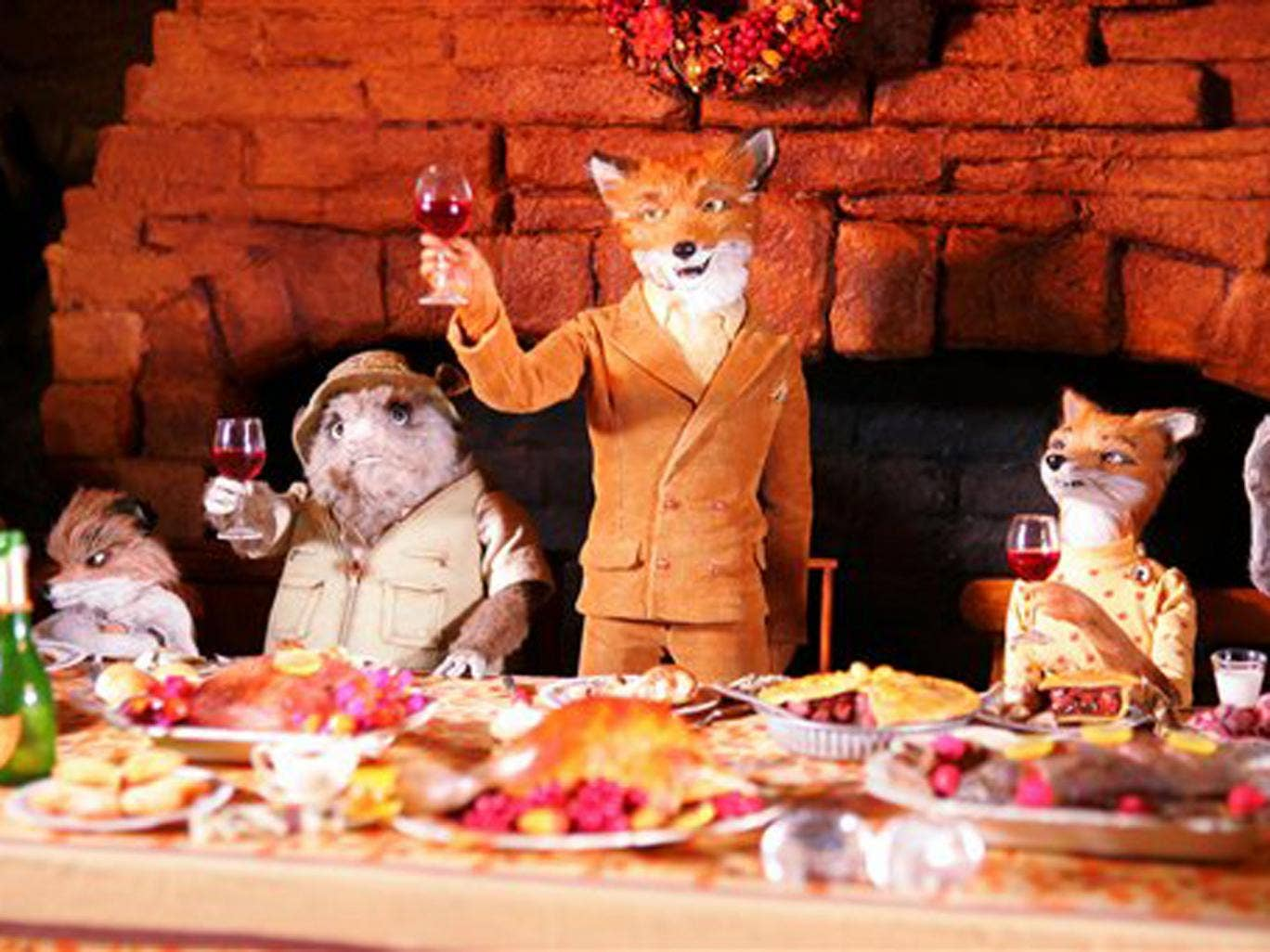 Fantastic Mr Fox (PG), 6.10-7.55pm, More4  Wes Anderson's retro animation works well and is a refreshing change from the usual slick appearance of kids' animations. Roald Dahl's story is amusingly carried by George Clooney as Mr Fox with a host of support