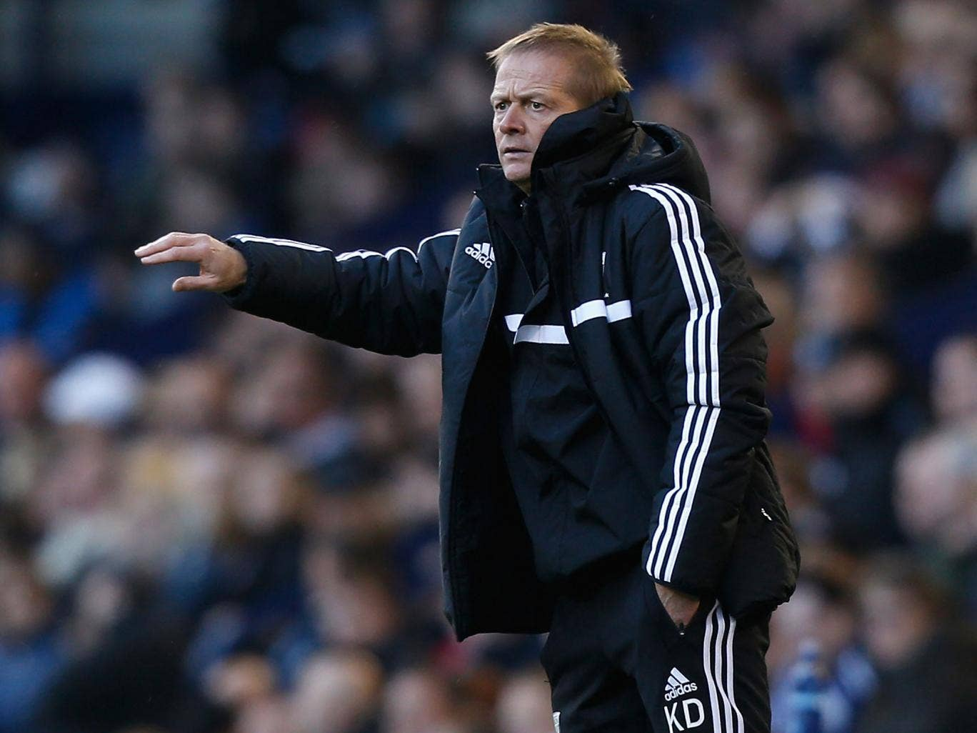 West Brom assistant manager Keith Downing will take charge of their Premier League match against Hull this weekend