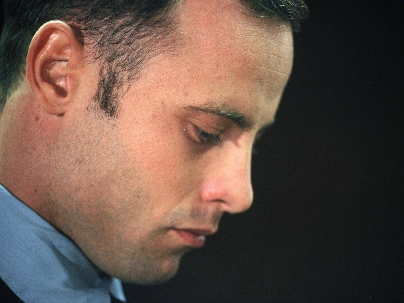 South African Olympic sprinter Oscar Pistorius appears at the Magistrate Court in Pretoria