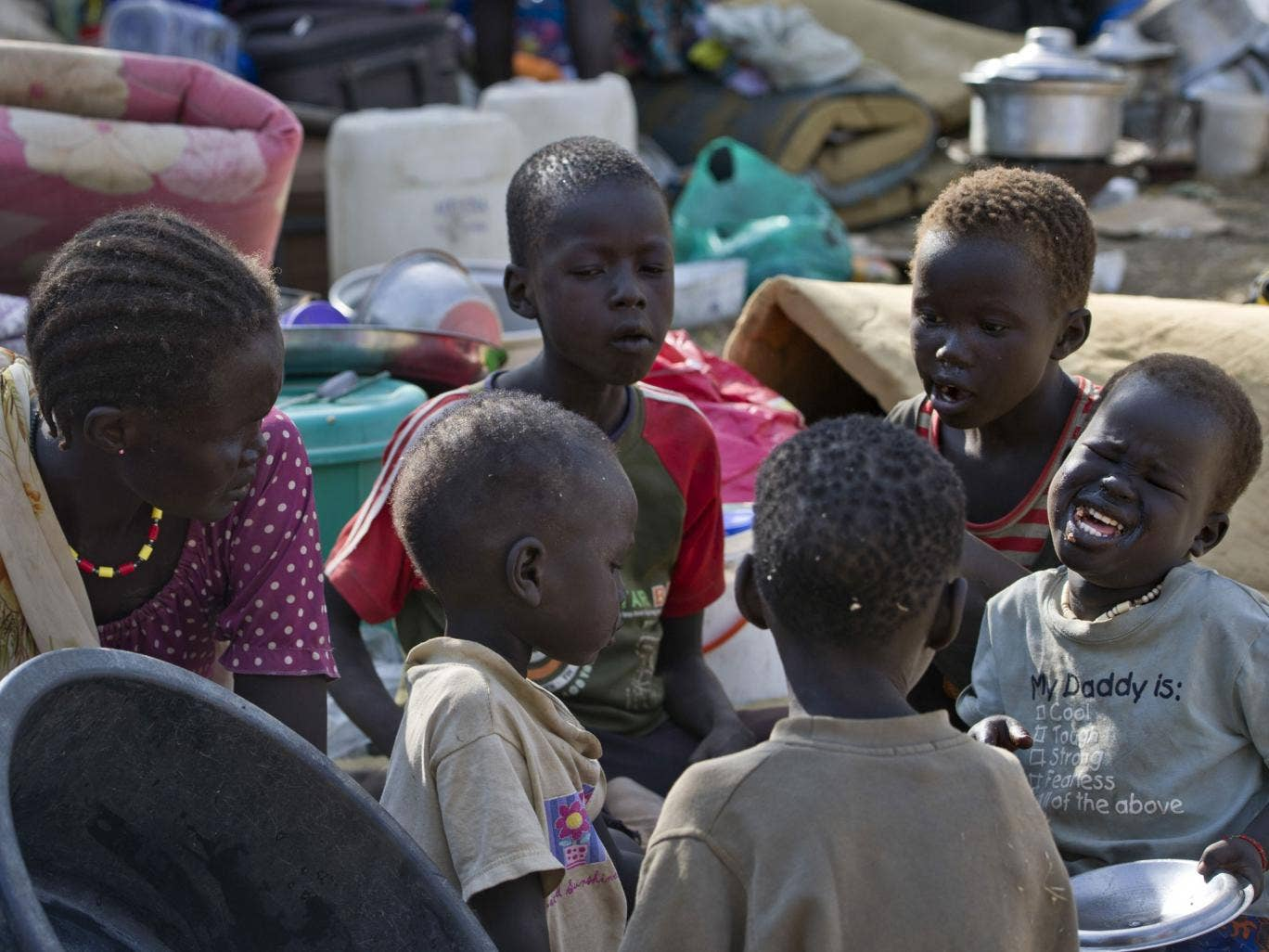 More than 20,000 people have sought refuge at the United Nations mission in Juba