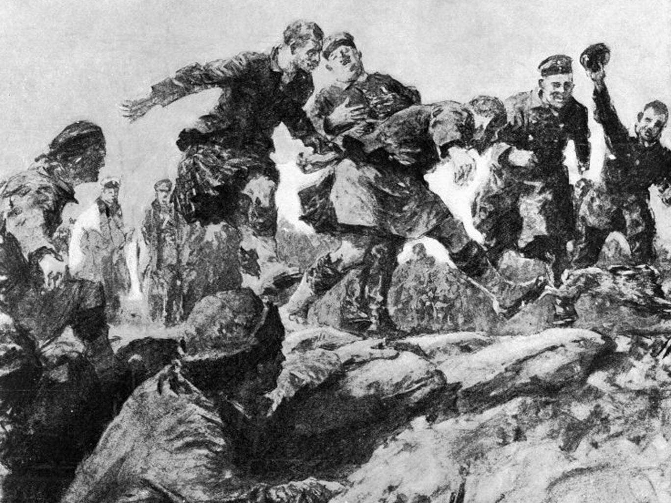 Yuletide truce: The unofficial 1914 ceasefire when British and German soldiers came out of their trenches to play football and sing carols