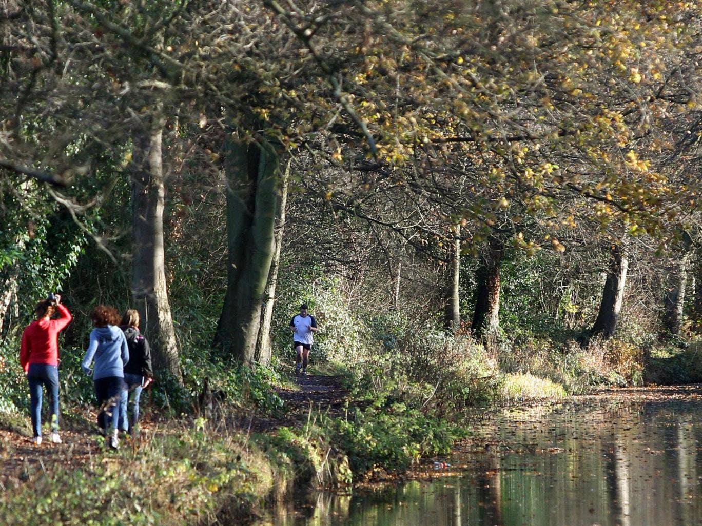 """The Hart district of Hampshire has been named the most desirable place to live in the UK. With 84 square miles of green wooded landscape and Hampshire's largest freshwater lake, the area has been dubbed """"a step back in time"""""""