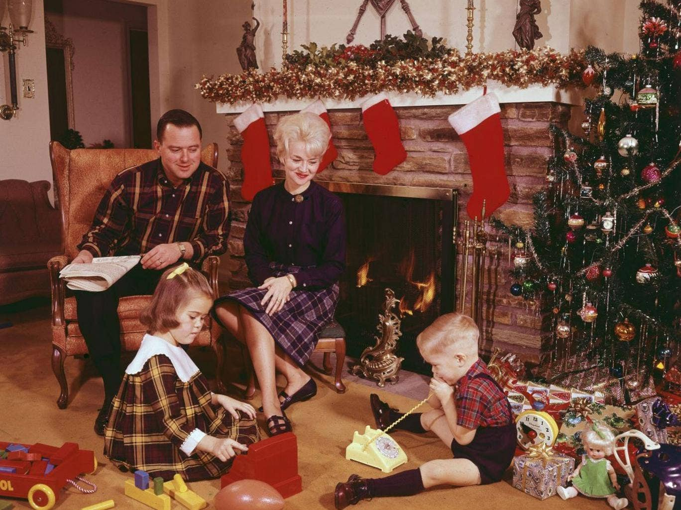 Seasonal surfeit: The excesses of Christmas are a small price to pay for collective spirit
