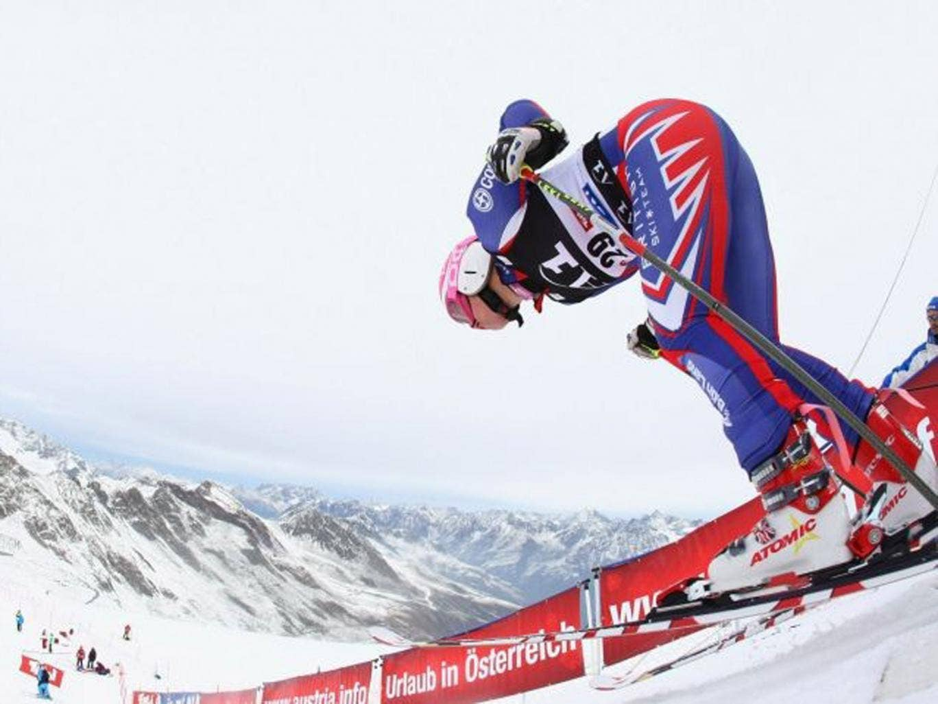 Queen of the Mountains: Chemmy Alcott is excited by the prospect of competing in her fourth Olympics
