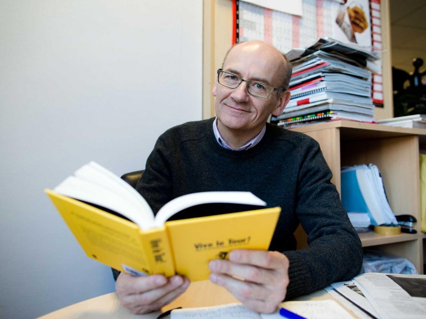 Deep in thought: Simon O'Hagan sets a quiz