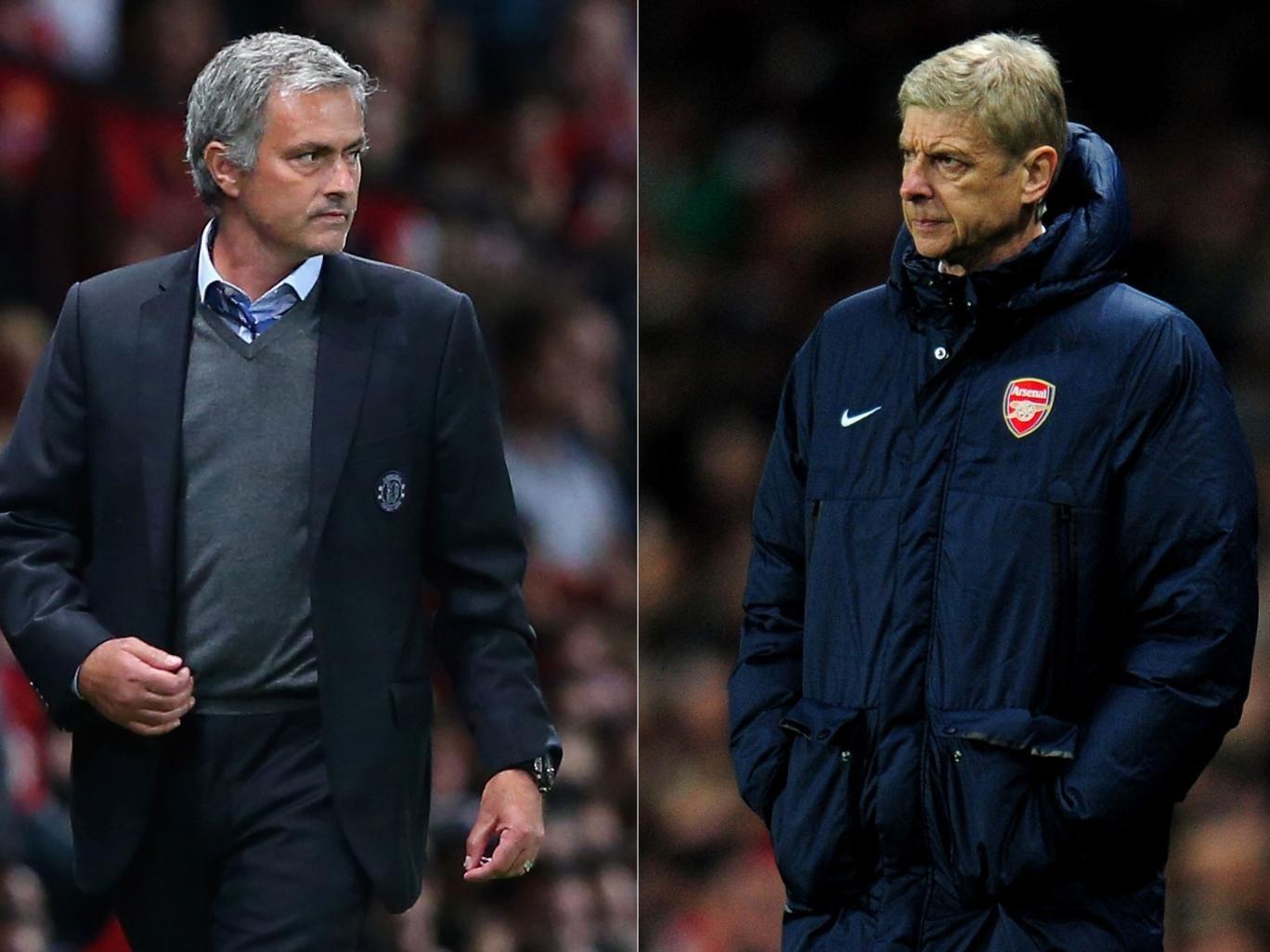 Mourinho's Chelsea vs Wenger's Arsenal