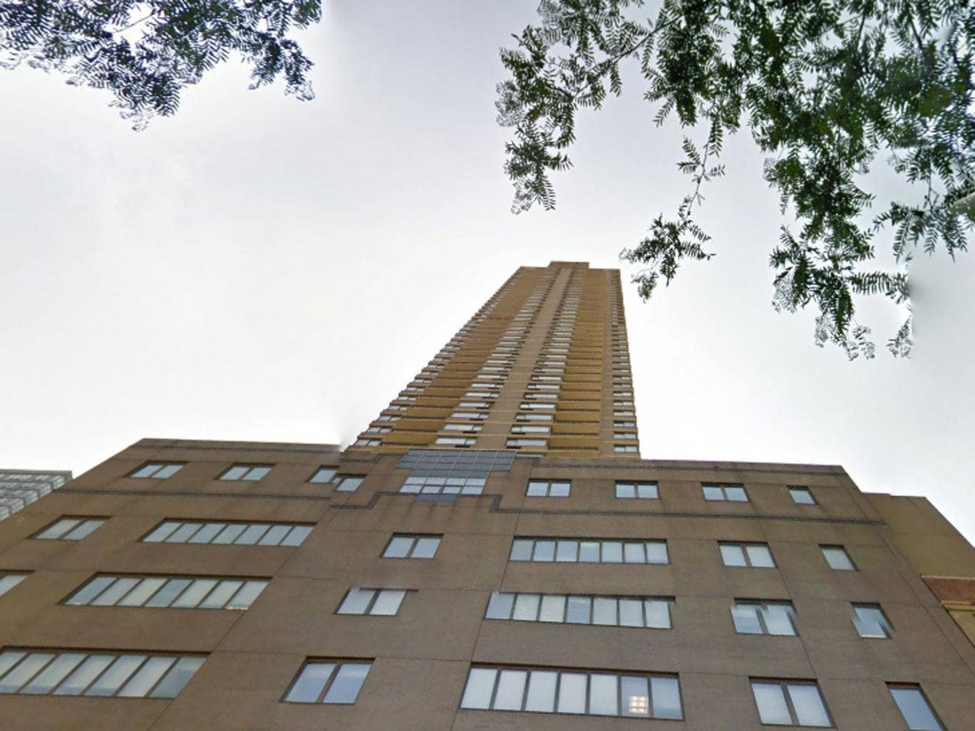 Dmitriy Kanarikov, a systems analyst from Brooklyn, pushed his son Kirill off a ledge on the 52-floor building a short distance from Columbus Circle and the Lincoln Center.