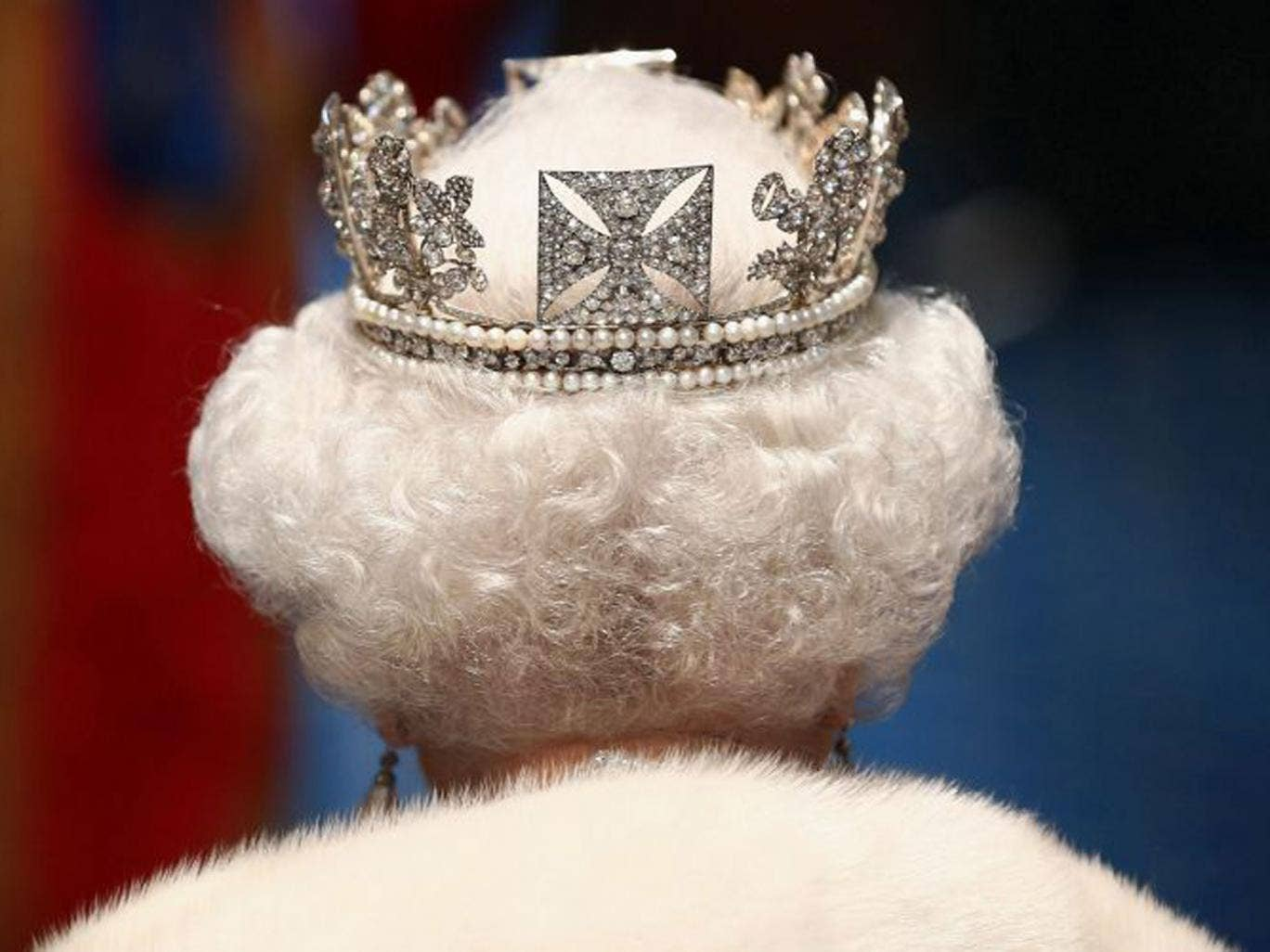 Head of state: the Queen leaves the Palace of Westminster after the State Opening of Parliament earlier this year