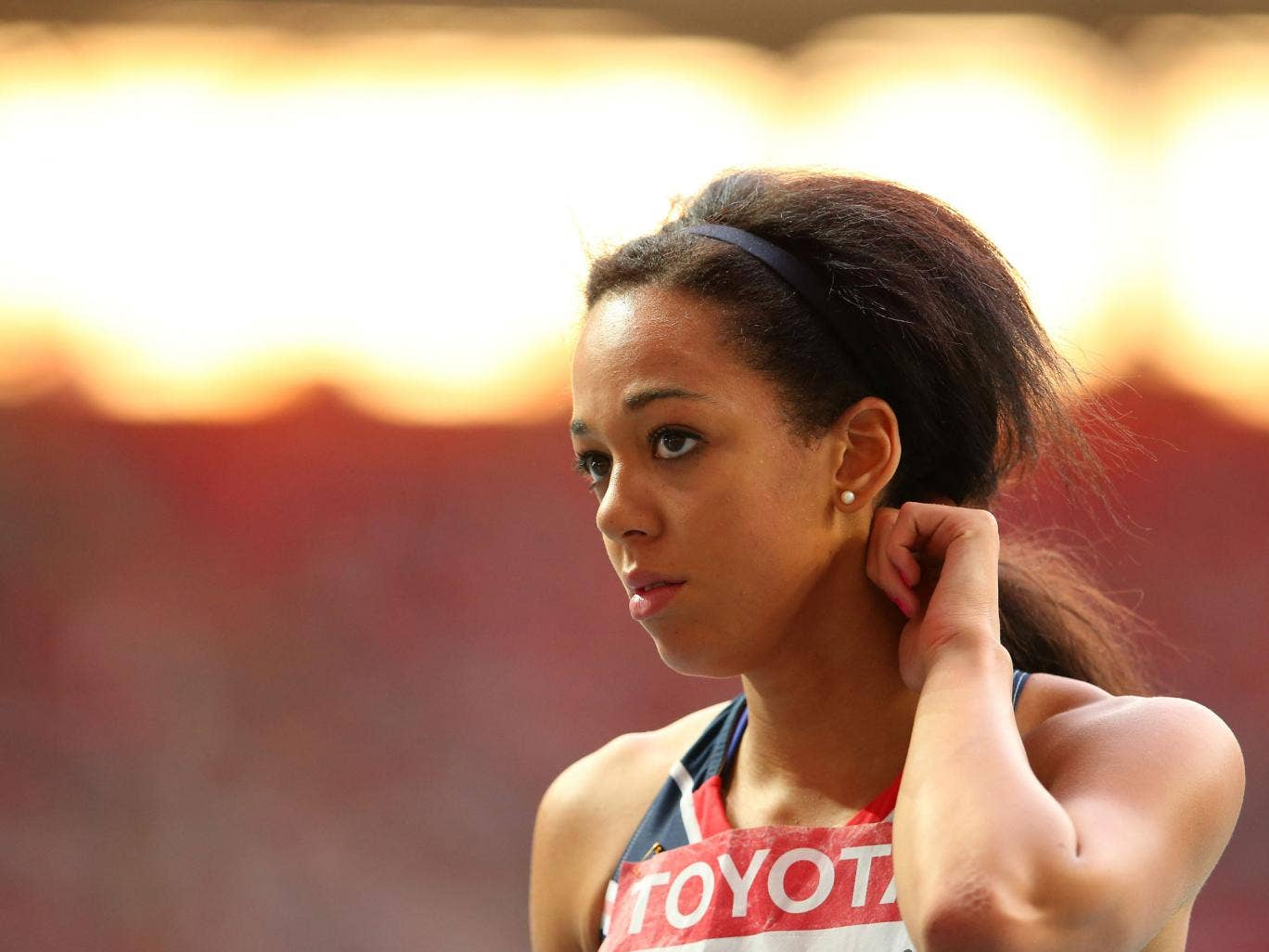 I'm going to be 23 in Rio – 26, 27 is the peak age for heptathletes, so 2020 is realistic for me as well