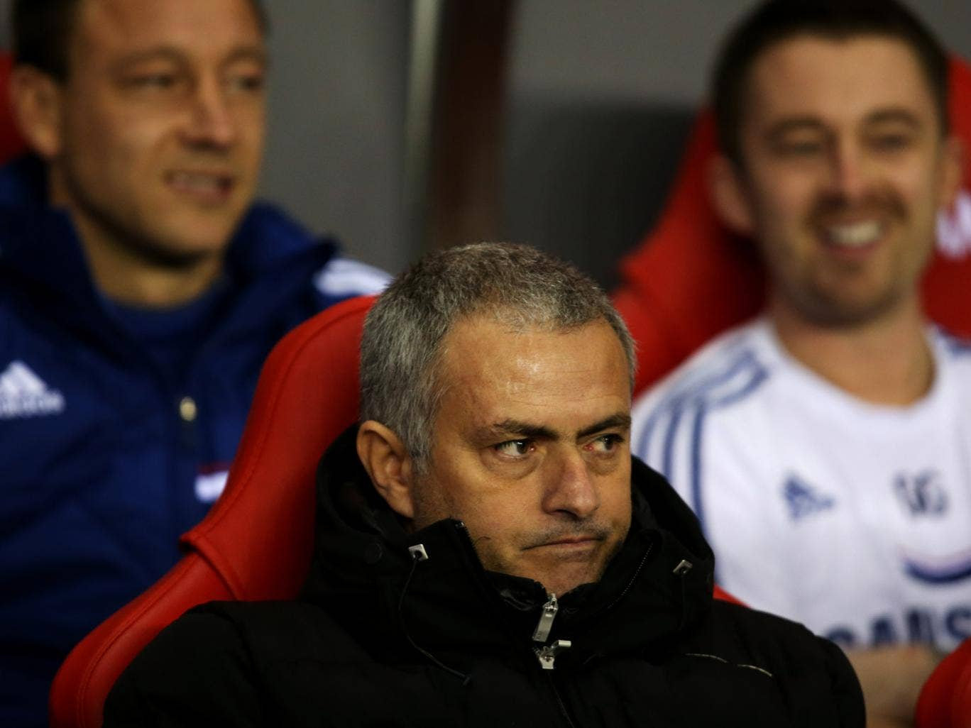 Chelsea manager Jose Mourinho has claimed that the best sides in England must secure a top four place before making a title charge