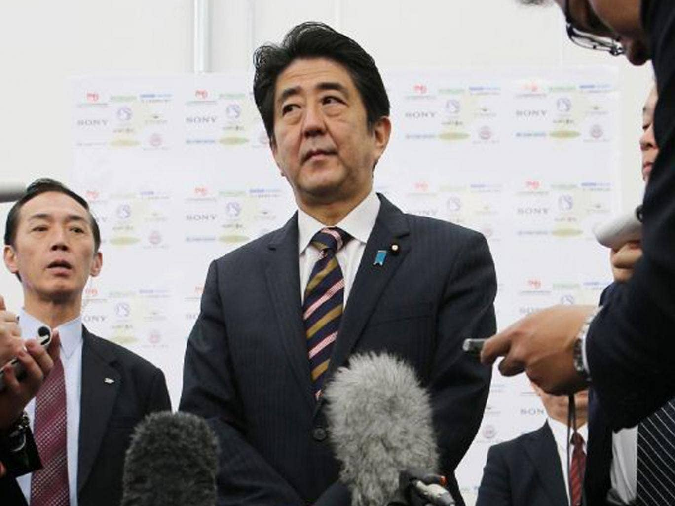 Japan Prime Minister Shinzo Abe feels Japan has addressed its past