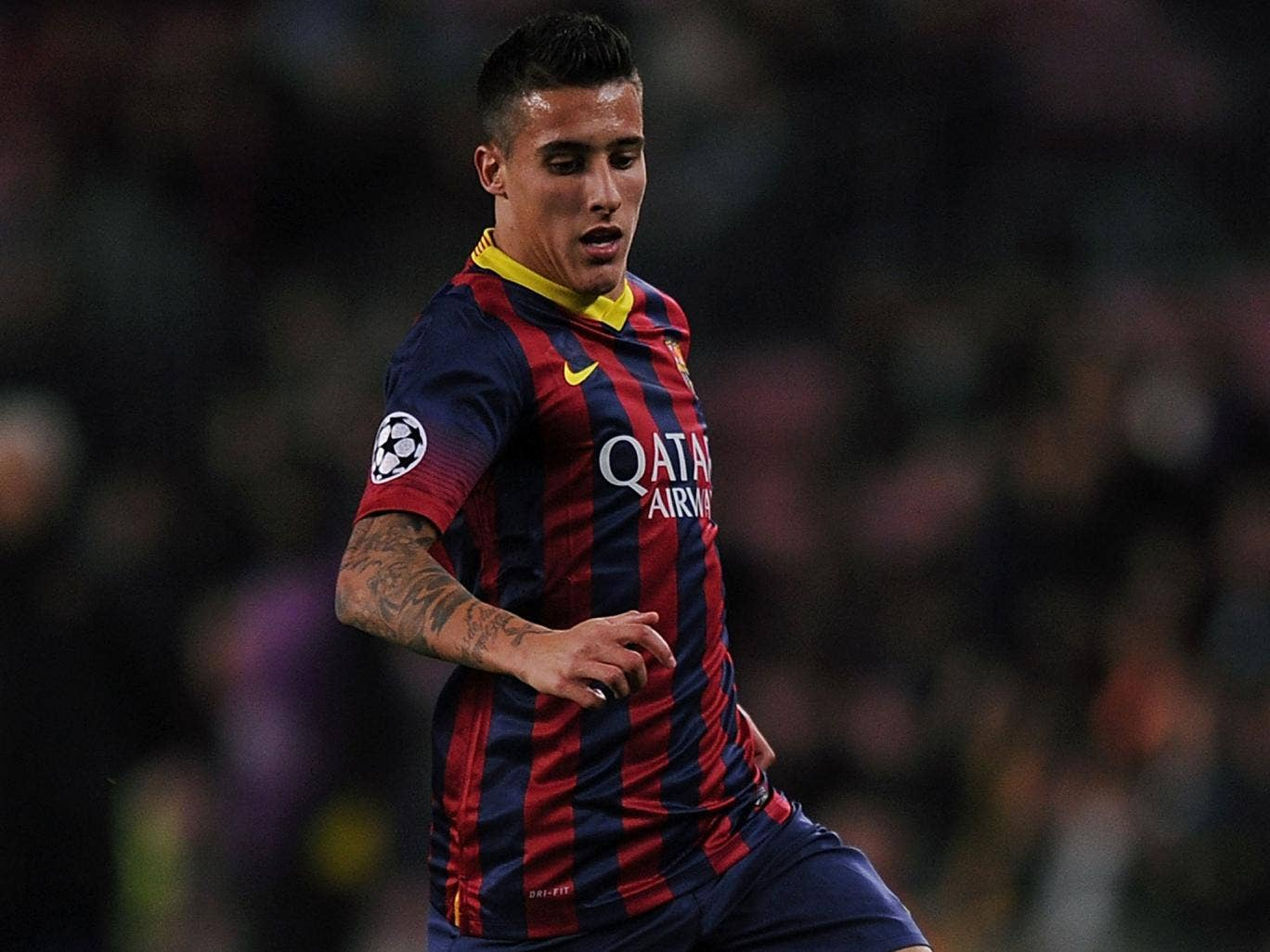 Cristian Tello has been linked with Liverpool