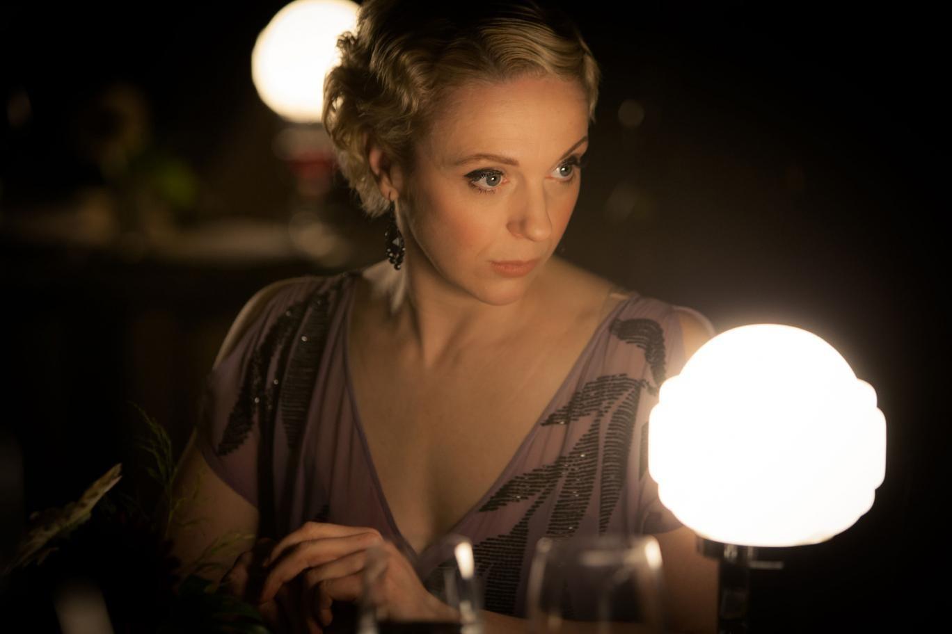 Amanda Abbington plays Mary Morstan in Sherlock