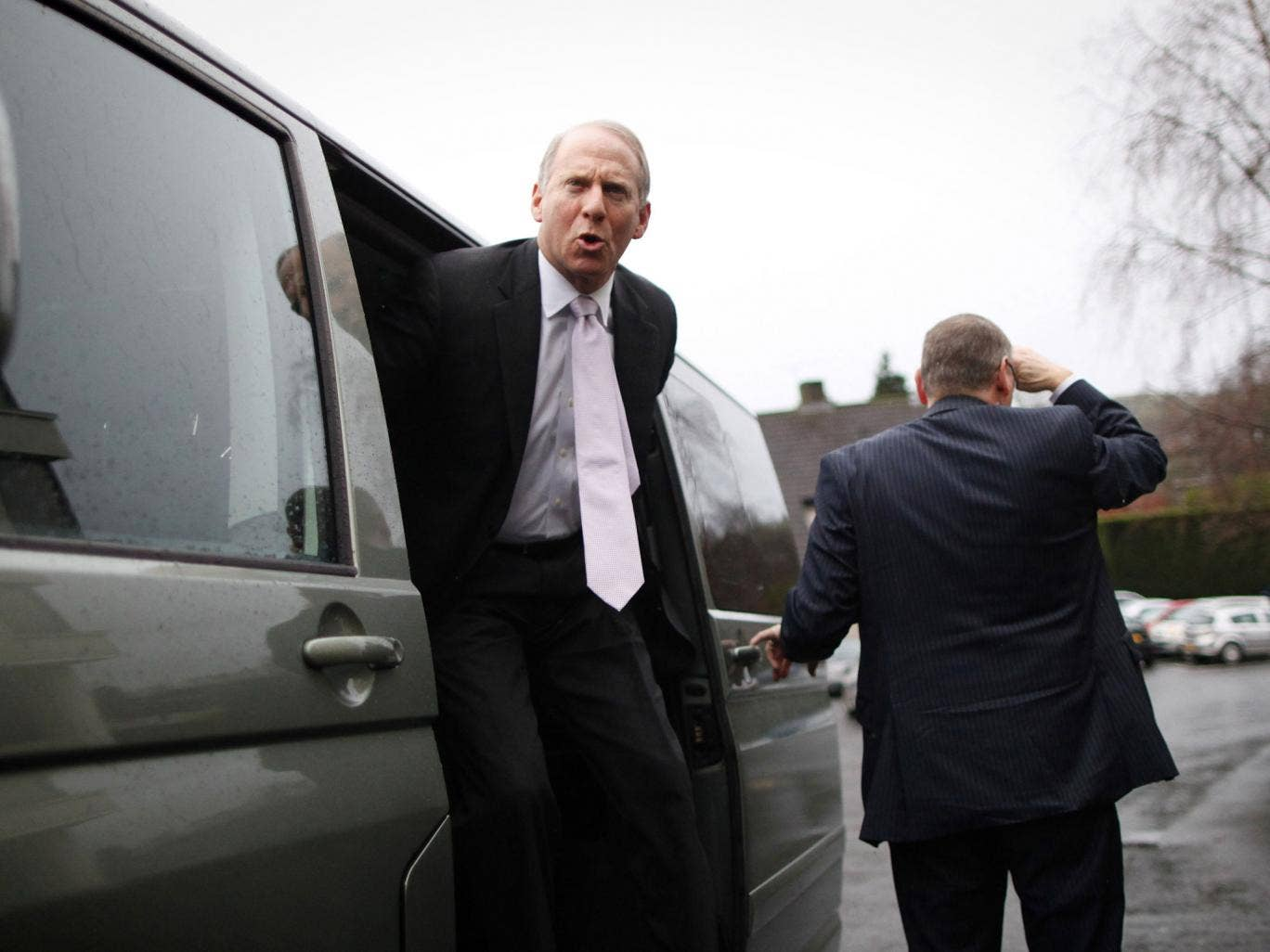 US envoy Richard Haass said talks would conclude on Monday