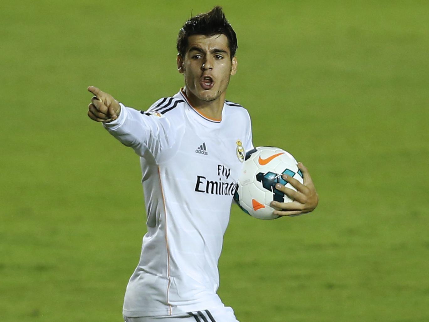 Real Madrid striker Alvaro Morata remains a transfer target for Arsenal