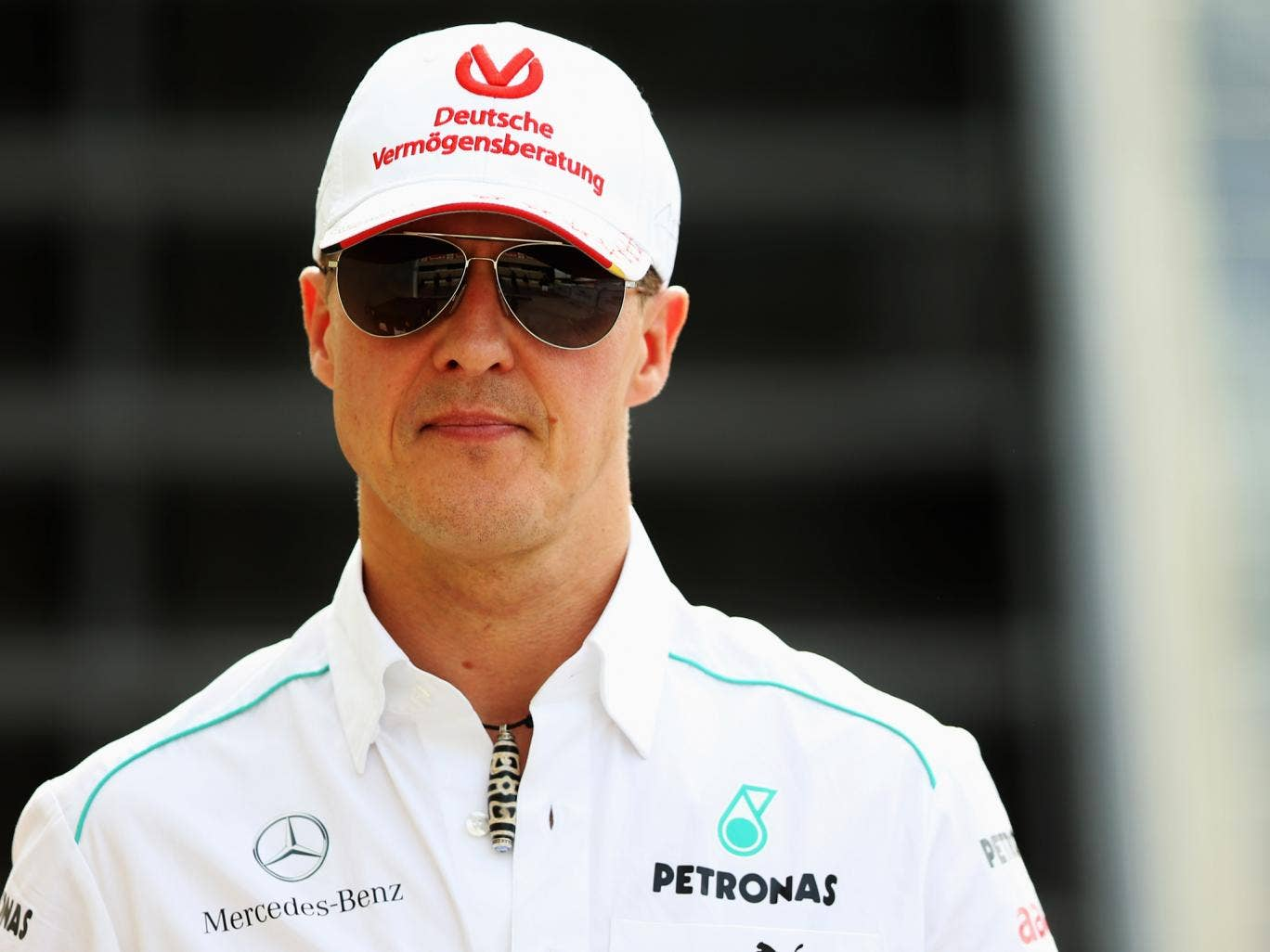 Michael Schumacher before his retirement from Formula One