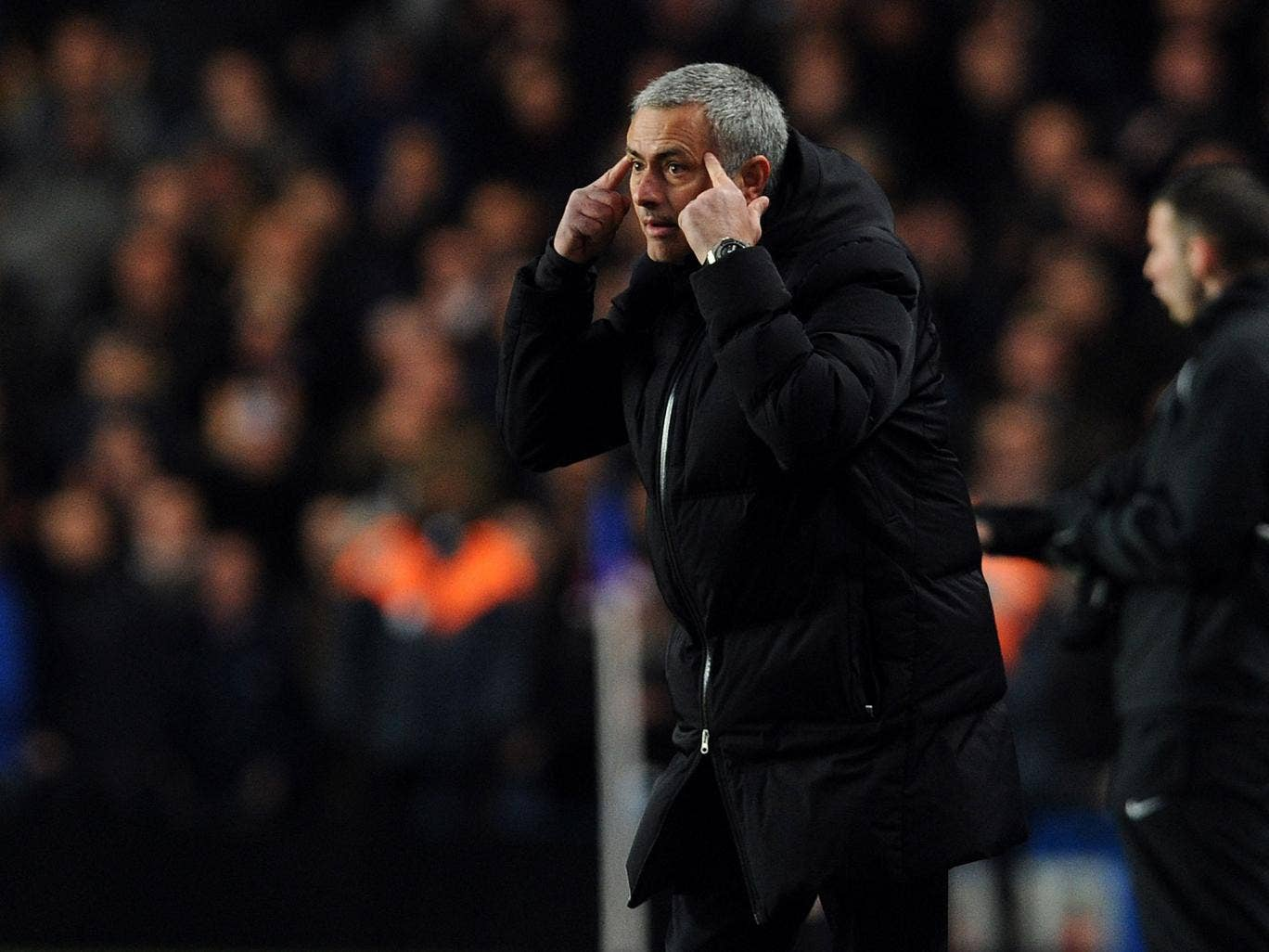 The Chelsea manager, Jose Mourinho, may have ulterior motives in singing the praises of Manchester City