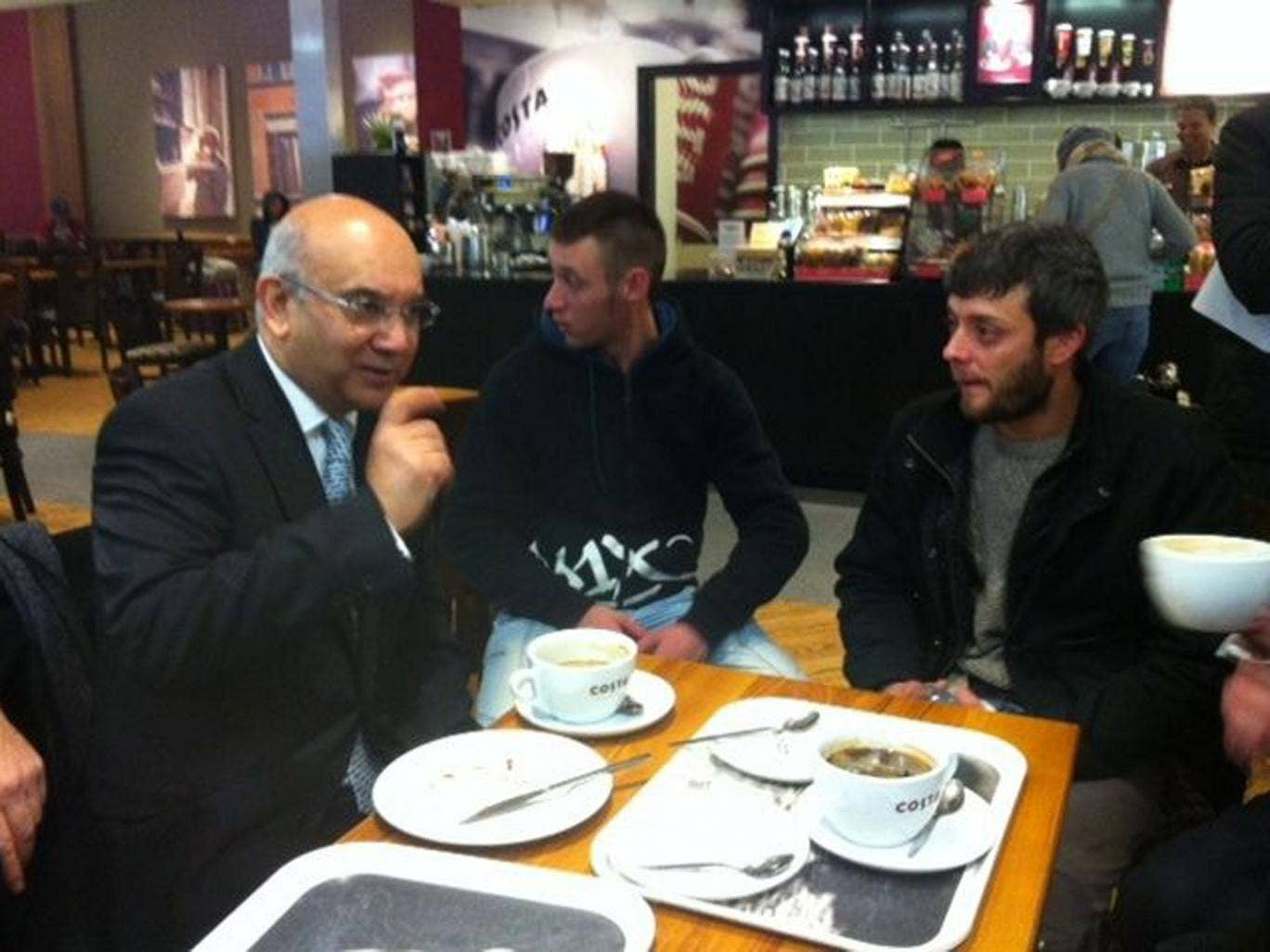 Romanians landing at Luton Airport were surprised to be greeted by Home Affairs Select Committee chairman Keith Vaz. However, many Britons have been heading out in the opposite direction.