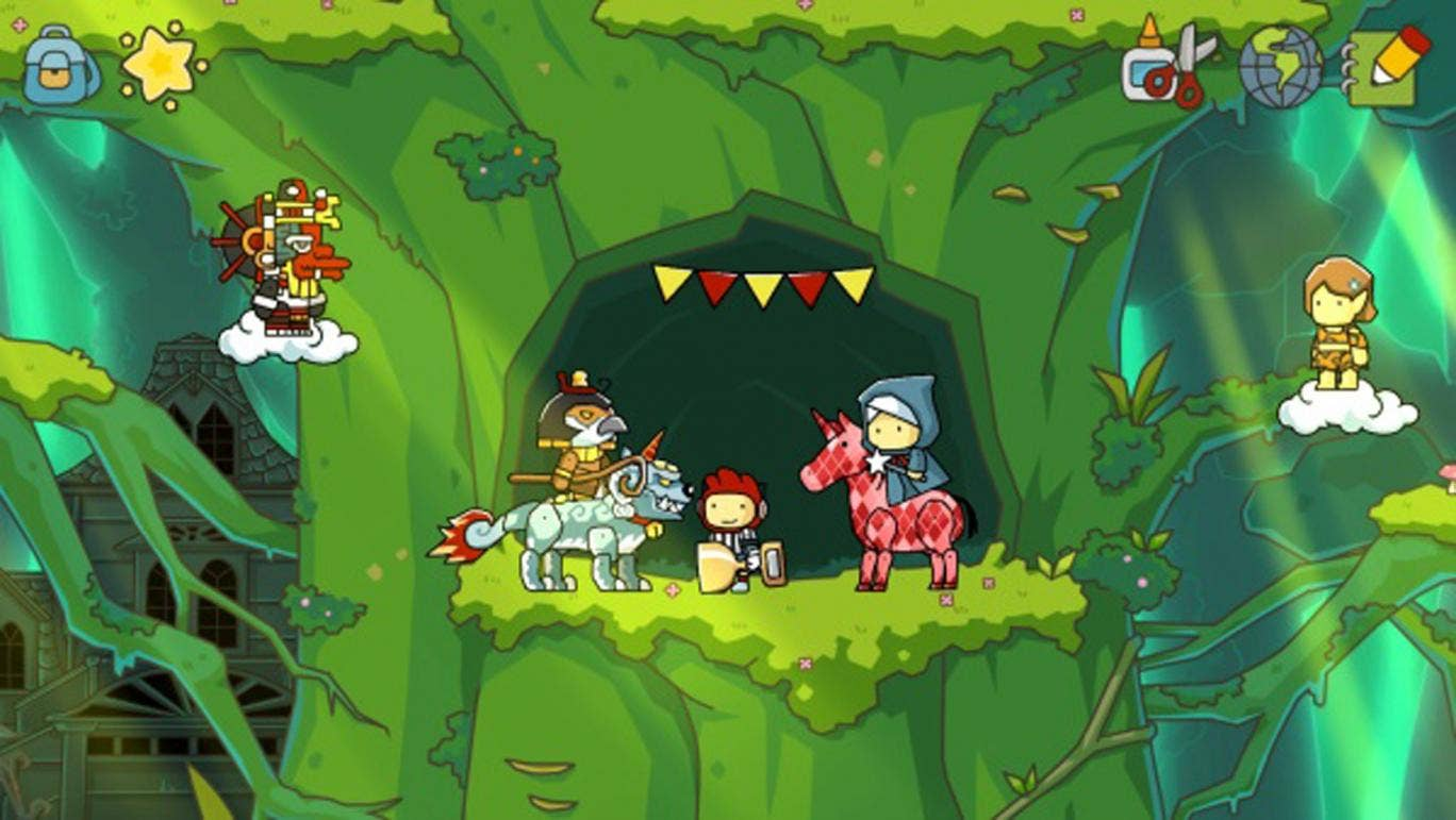 Scribblenauts Unlimited has finally come to the UK but lacks a strong competitive element