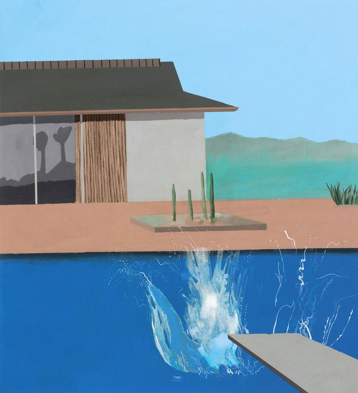 Nosedive: David Hockney's 'The Splash'
