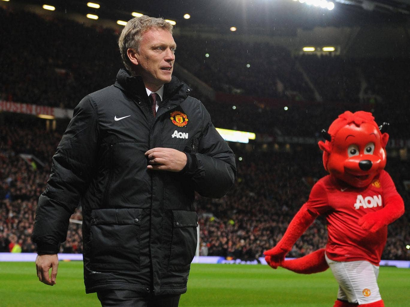 Manchester United manager David Moyes ahead of the Premier League clash with Tottenham