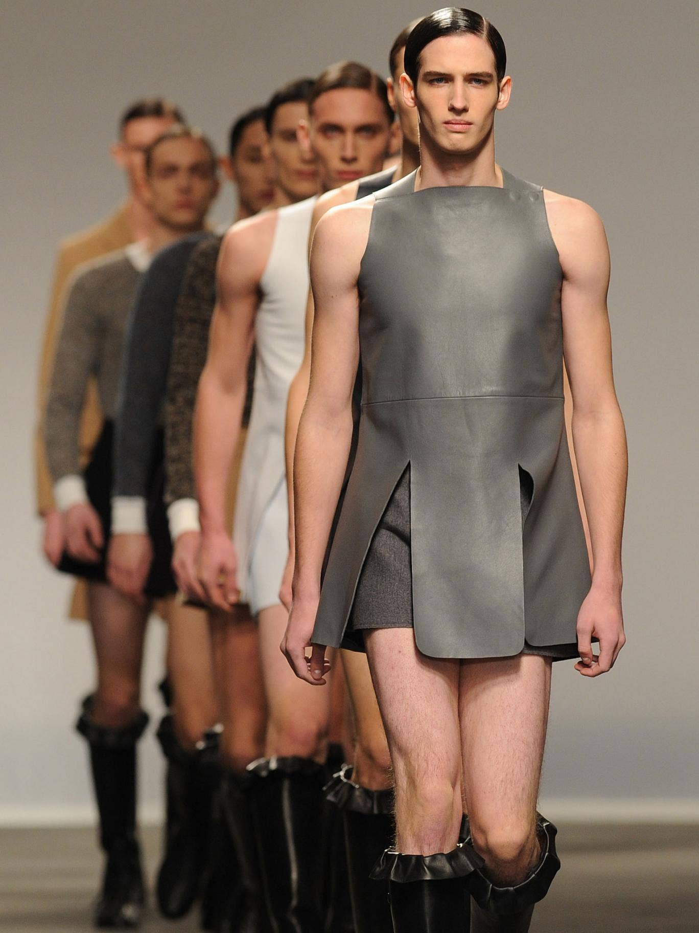 JWAnderson at the London Collections: Men show last January