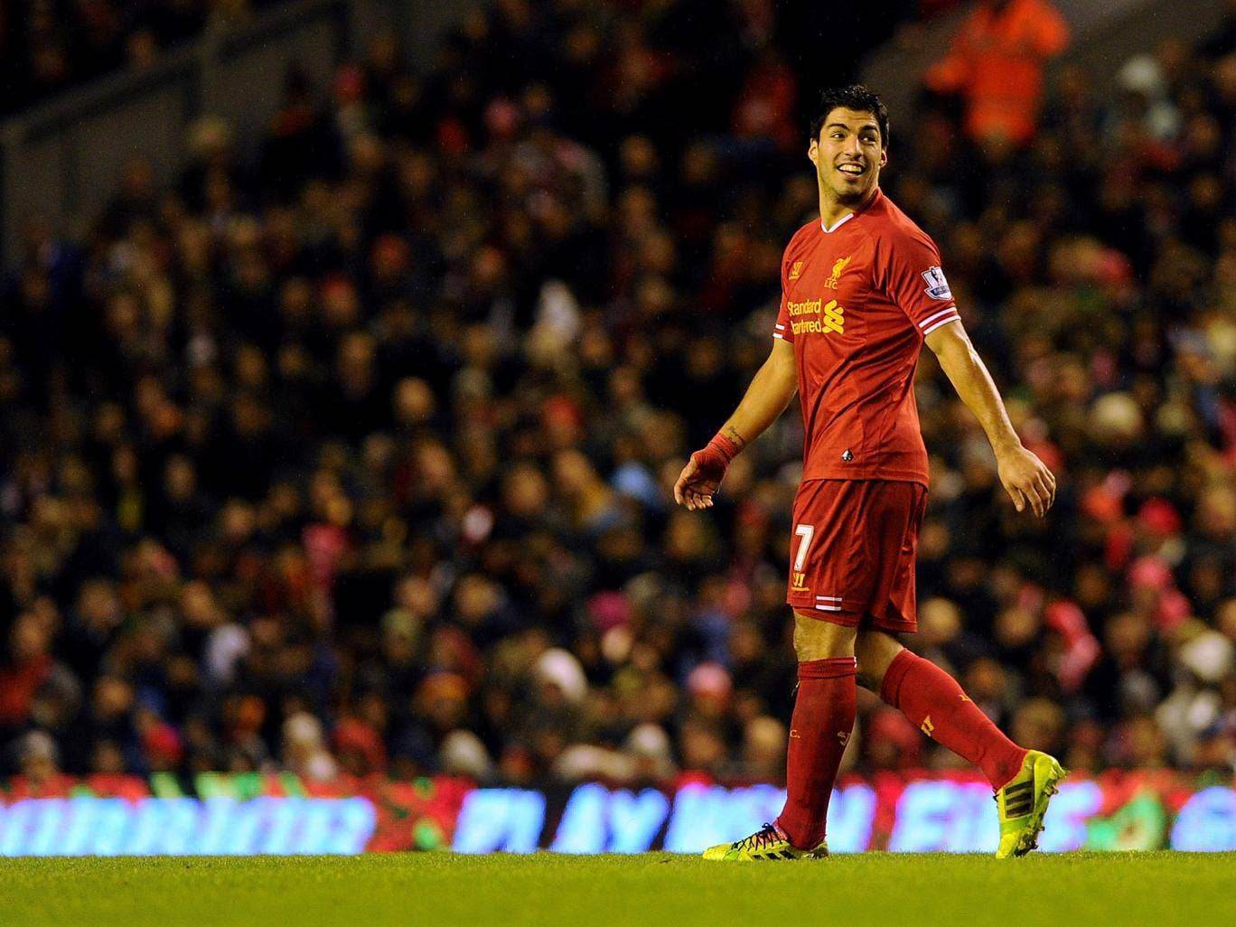 Liverpool striker Luis Suarez has been identified as the key threat by Oldham Athletic manager Lee Johnson