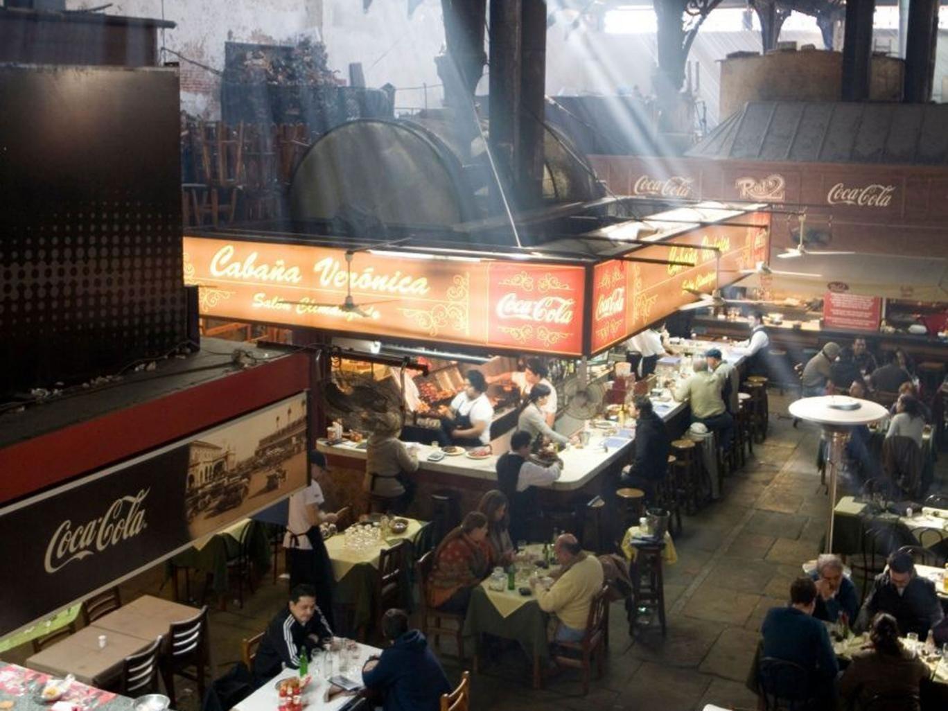 Top table: Restaurants at the Mercado del Puerto