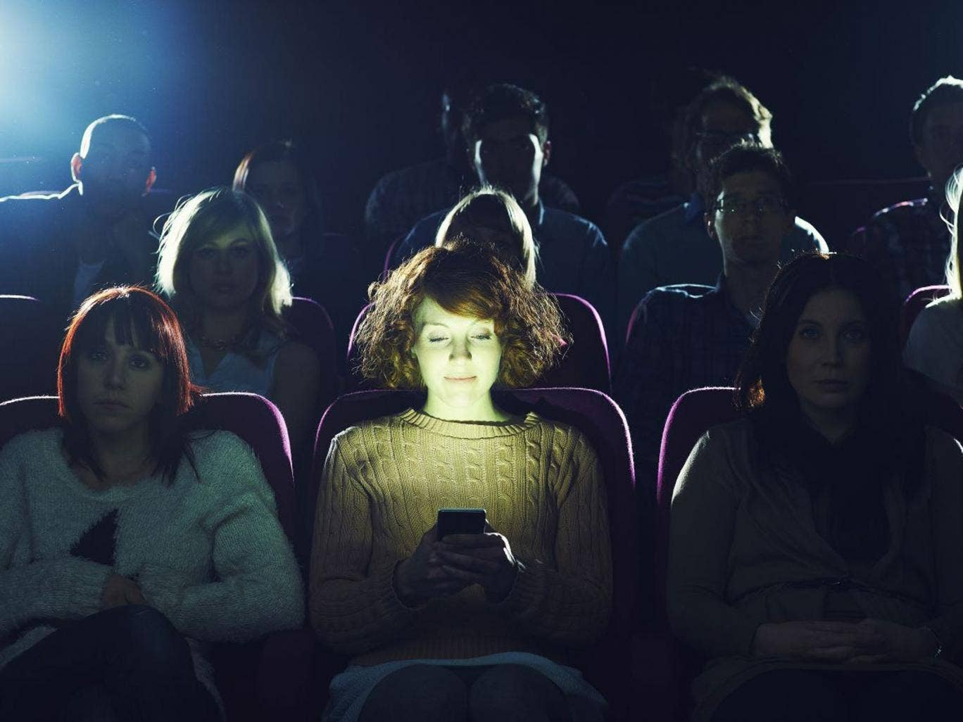 Cinema-goers may now be asked to keep their phones on, as a new app is trialed