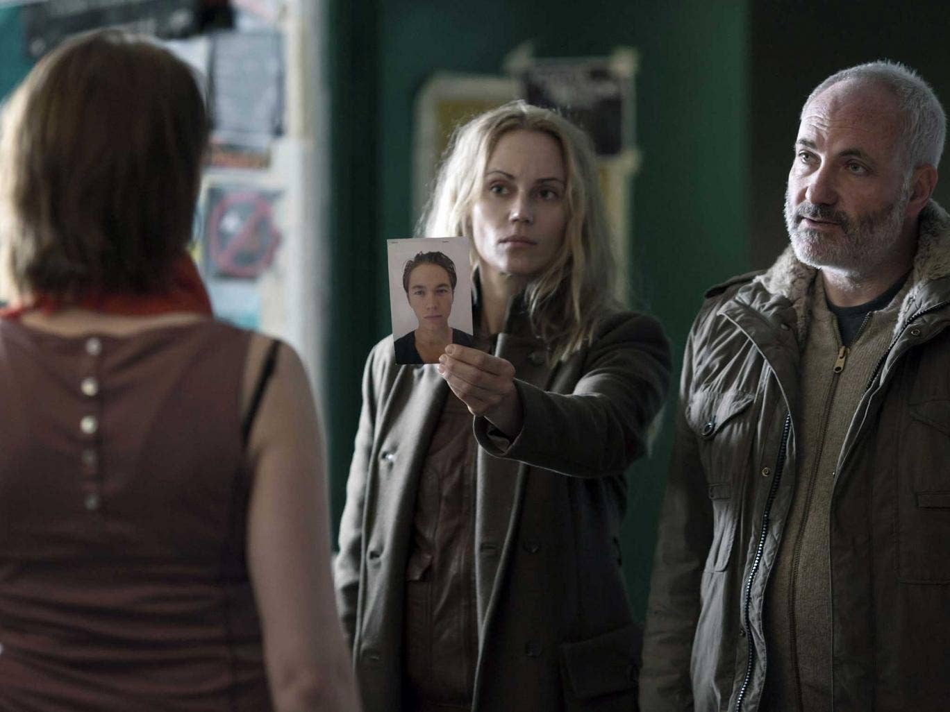 Get the picture: Sofia Helin and Kim Bodnia in a new series of 'The Bridge'