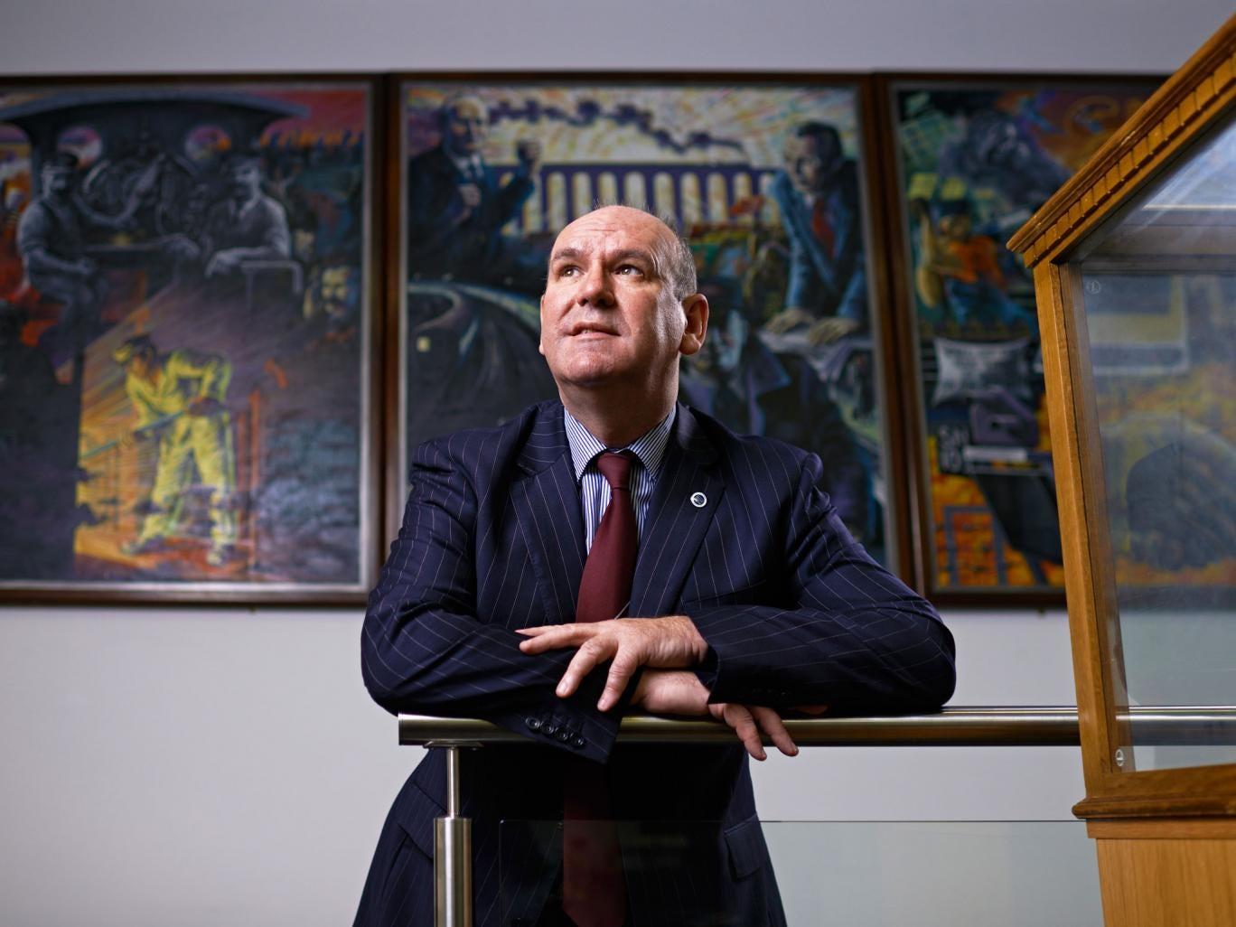 Aslef head Mick Whelan said the rail scheme would drive growth